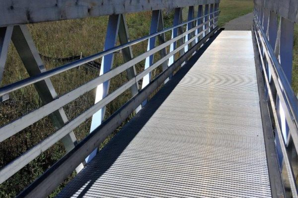 Aluminum Ramp bridge