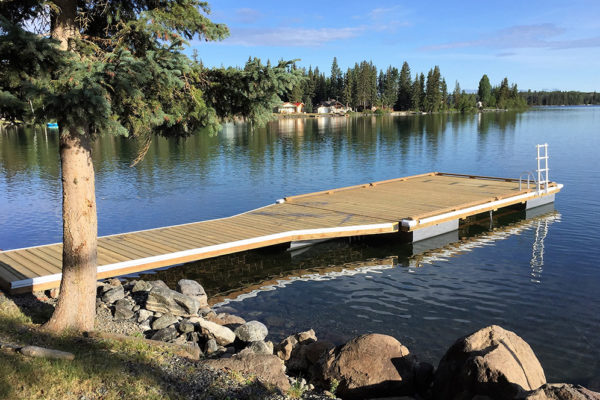 • 6'x20' flare ramp with 11'x20' dock;• 5 NW550 floats required