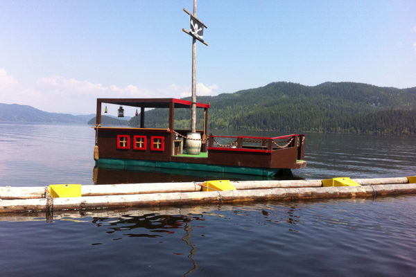 • 12'x28' barge;• 9 NW1900 floats required & 3 nose cones