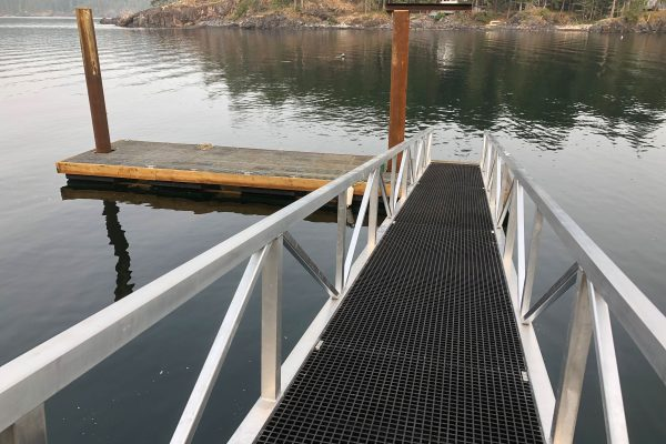 4x60 Walkway 10x40Dock Oceanside Quadra